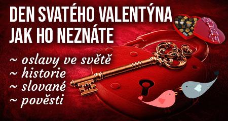 Den svatého Valentýna ve světě jak ho neznáte