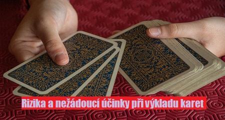 Ali Rose: Rizika a nežádoucí účinky při výkladu karet