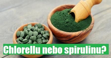 Dita Křížková: Chlorellu nebo spirulinu?