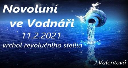 Jitka Valentová: Novoluní ve Vodnáři