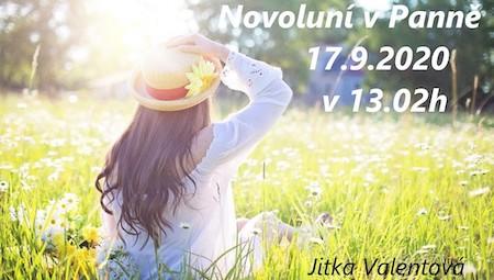 Jitka Valentová: Novoluní v Panně 17.9.2020 v 13.02 h a podzimní rovnodennost 22.9. v 15.30