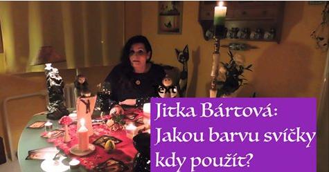 Jitka Bártová: Jakou barvu svíčky kdy použít?