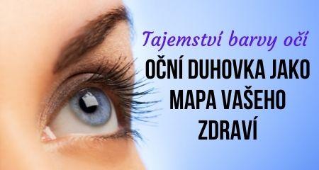Tajemství barvy očí: Oční duhovka jako mapa vašeho zdraví
