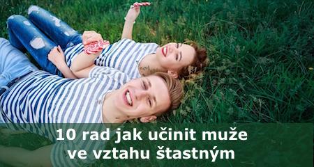 Vendula Kociánová: 10 rad jak učinit muže ve vztahu štastným