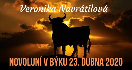 Veronika Navrátilová: Novoluní v Býku 23. dubna 2020